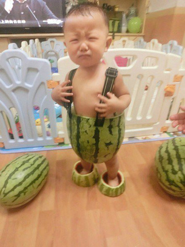 But maybe he hates watermelon shorts! (via