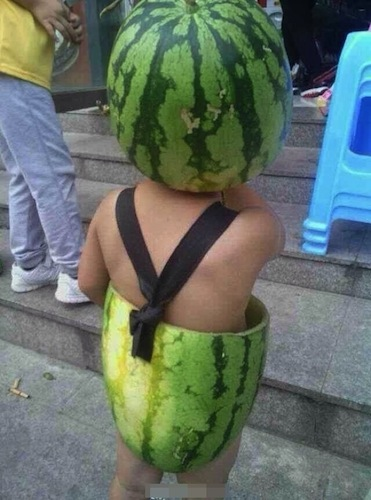 This is the watermelon kid who started it all. (via