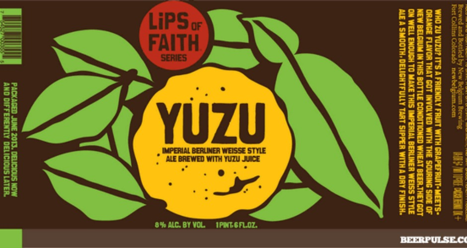 New Belgium's Lips of Faith series never falters on the art front.