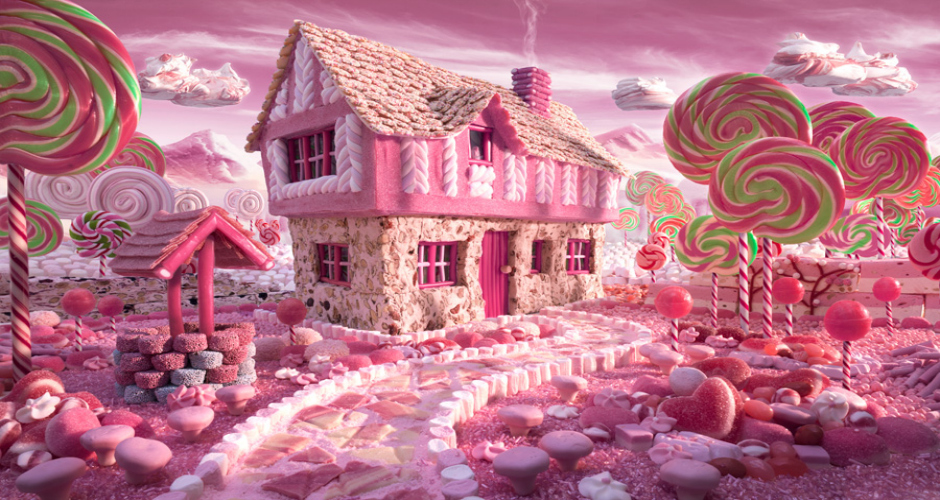 Candy Cottage. (Photo: Carl Warner)