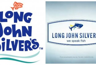 Long John Silver's. Left: 1969, Right: 2013. (Photos: Simply Being Mommy, North Lich)
