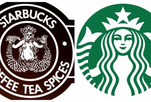 Starbucks. Left: 1971, Right: 2013. (Photos: Jacy of All Trades, Downtown Seattle)