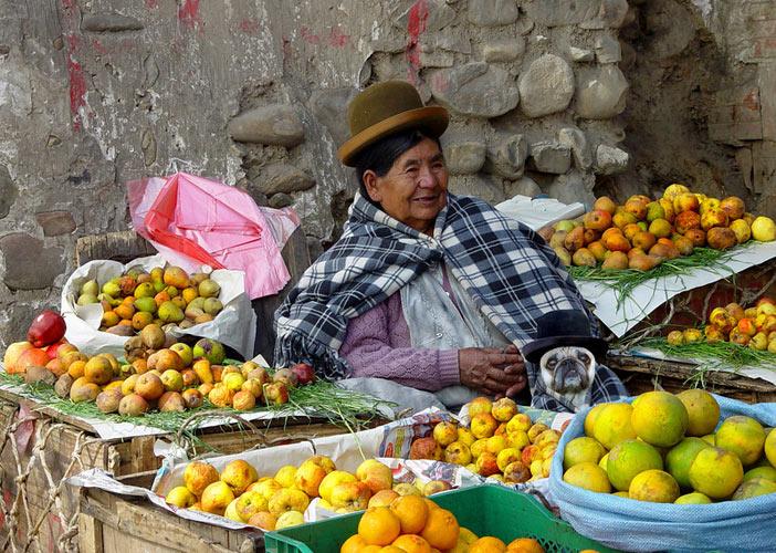 Cholas. La Paz, Bolivia (Photo:
