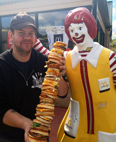 Ronald was extremely proud of Nick. (Photo: