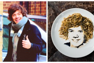 """Wok Direction: Harry Styles."" [Photos: Flickr,Digital Newsroom]"