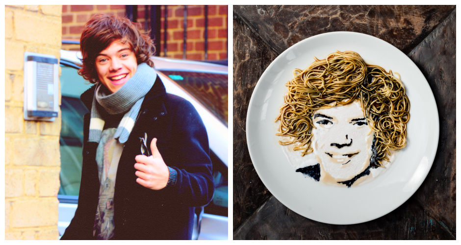 """Wok Direction: Harry Styles."" [Photos: Flickr,Digital Newsroom]"