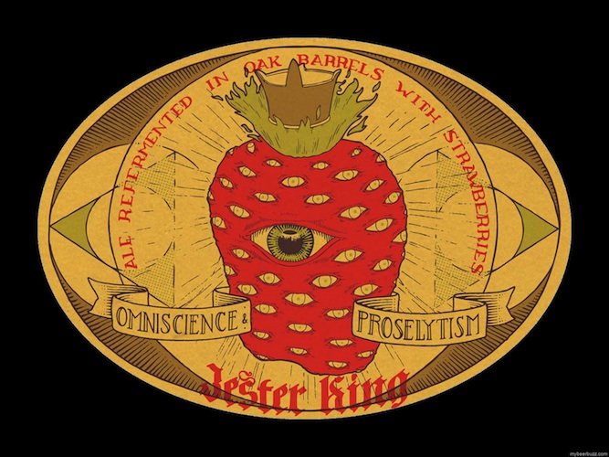 The all-seeing, all-knowing strawberry?