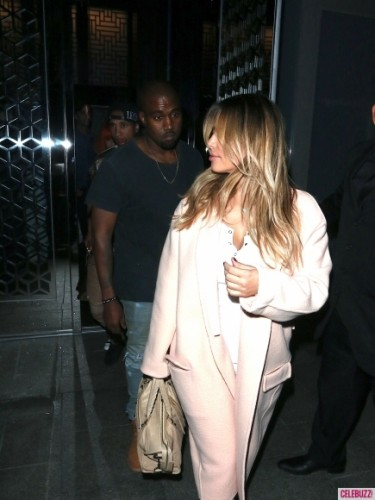 LOSER: Kimye. North West was finally taken outside this month, which sounds weird as hell to say out loud. And not long after, Kanye took Kim's new blonde hair out to dinner at overpriced, cleb-humpy hot spot Hakkasan in L.A. with Tyga and Blac Chyna. Okay, never mind, that's weirder. (Photo: