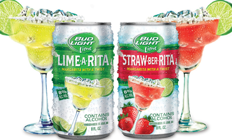 Bud Light's Lime-A-Rita and Straw-Ber-Rita
