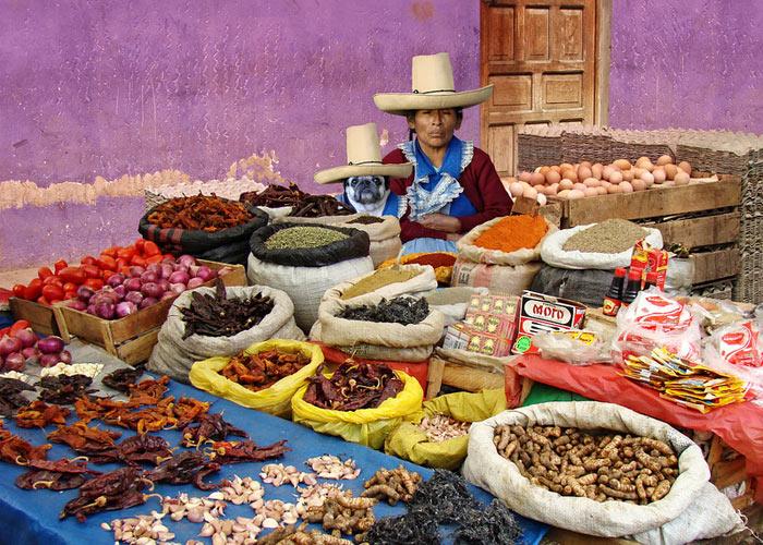 Quechua ladies. Cajamarca, Peru (Photo:
