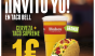 A beer and Taco Supreme at Tacobell Spain