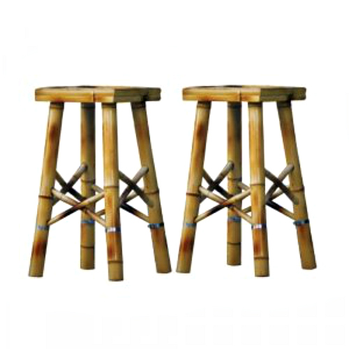 Bamboo bar stools come in handy when you've had one-too-many pina coladas. Available at Ace Hardware Express
