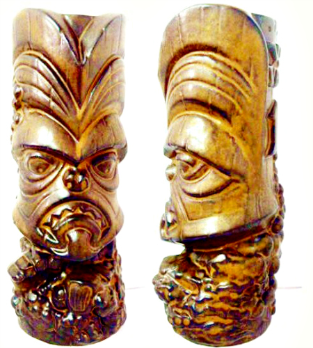You can tell all your friends that this tiki mug is limited-edition vintage. Available at Liberty Vintage 4th Street