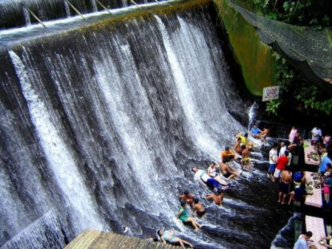 Villa Escudero, Philippines. The namesake of this hidden Filipino resort is their waterfall adjacent restaurant that has diners feet covered in rushing water.(Photo: