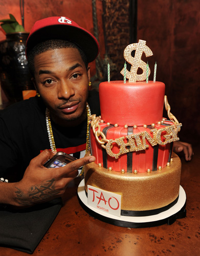 Who: ChingyLevel of absurdity (0-10): 8 Anything that says Chingy and Tao on it is automatically going to get close to maxing out the absurd-o-meter. (Photo: Denise Truscello/WireImage)