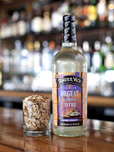 Make sure you're stocked up with this straight-from-the-source orgeat (almond syrup) for the perfect Mai Tai. Available at Trader Vic's