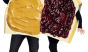The PB & J is the lazy couple's costume. Also, you have to stand by your other half all night other wise you just look like toast with a topping. (Photo: Party City)