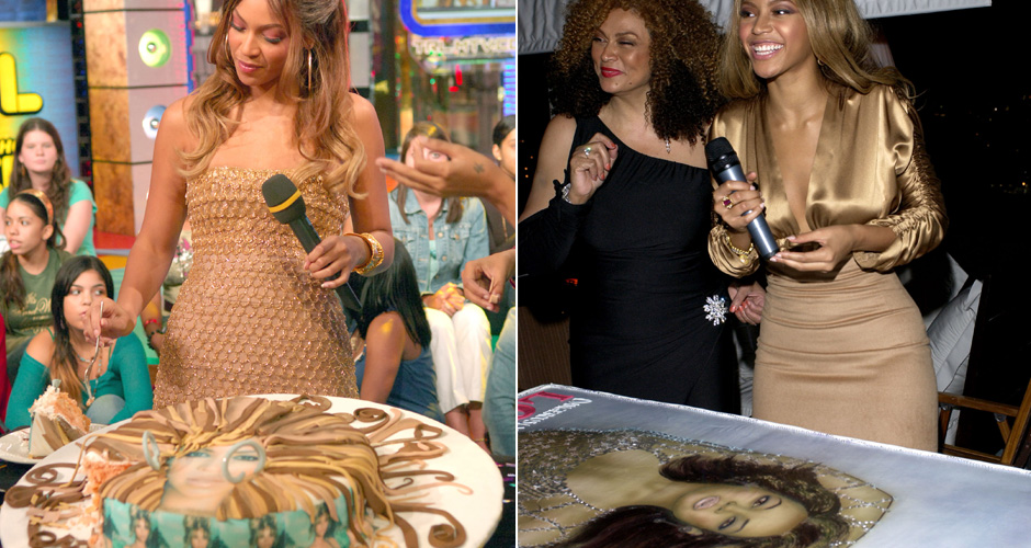 RAP WAGS INTERLUDE #1Who: BeyonceLevel of absurdity (0-10): 7 Question: Why does Bey only get cakes with her face on them? (Photo: Getty Images)