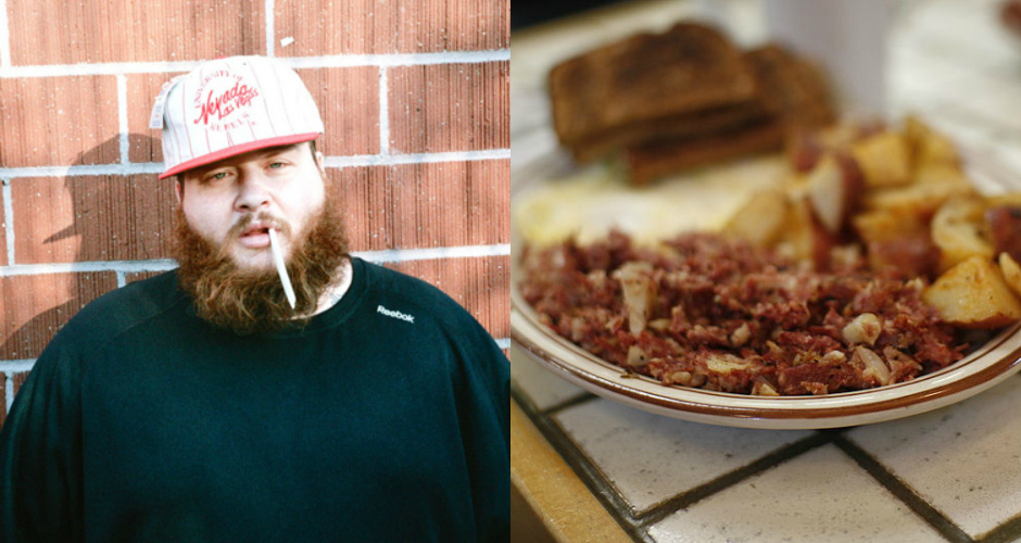 Best Action Bronson Food References