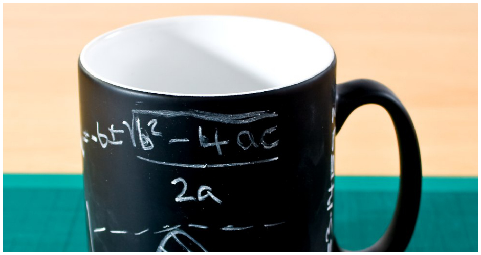 This chalkboard mug is like a blank canvas each day—all you need is some imagination, which may require some coffee first. Available at: Firebox. (Photo: Firebox)
