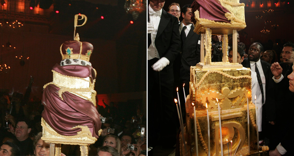 Who: DiddyLevel of absurdity (0-10): 8 Excellence. Opulence. Decadence. (Photo: Getty Images)