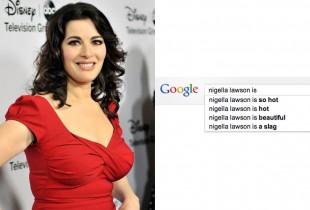 Everyone thinks Nigella is hot, except British people, who think she is hot and a slag. (Photo: Getty Images/Toby Canham)