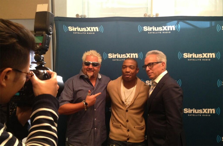 Guy Fieri, Ja Rule, and Geoffrey Zakarian are forming a super group called Kulinary Gangstas. (Photo: