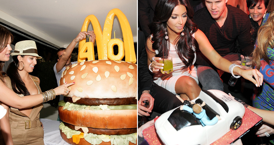 RAP WAGS INTERLUDE #2Who: Kim KardashianLevel of absurdity (0-10): 9 It's almost a given that Kimye will re-write rap-cake history at their wedding. Full-size Jesus cake? (Photo: Getty Images)