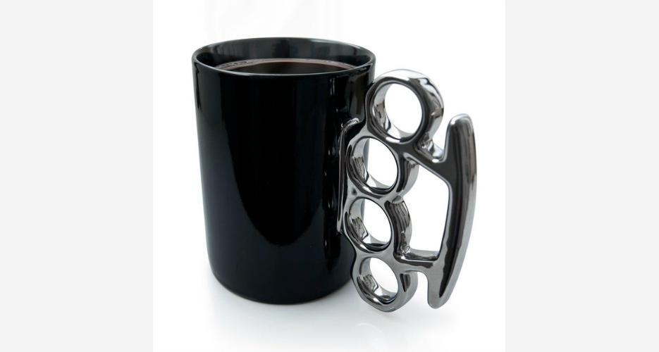 """Tired of telling people you're """"not a morning person""""? Let this mug say it for you. Available at: Fab.com. (Photo: Fab)"""