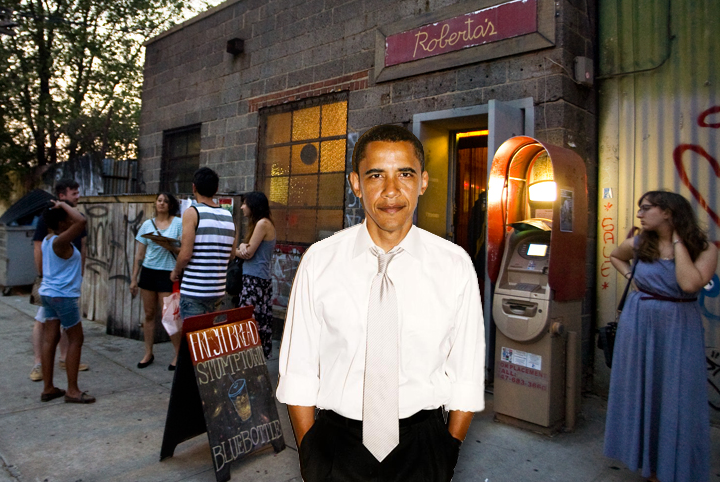 Obama should have gone to Roberta's for Bushwick's finest pizza pies. (Photo: