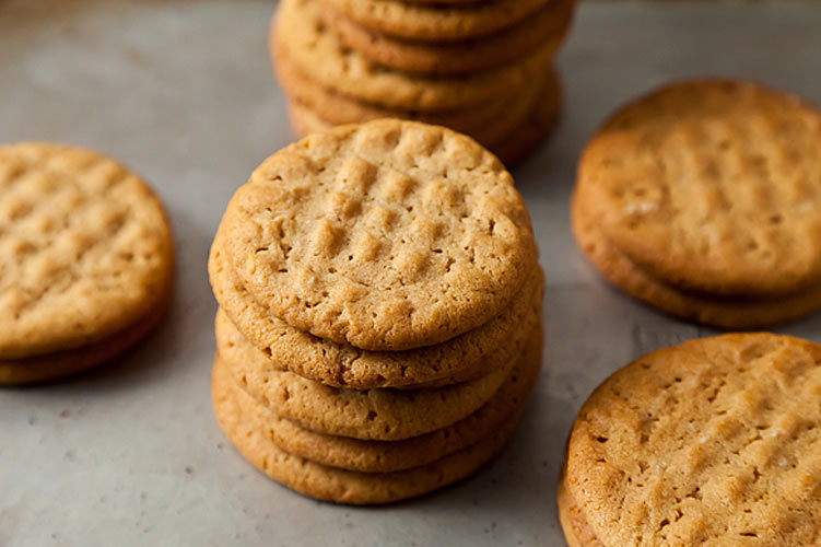 Peanut Butter Cookies. These soft, sweet, melt-in-your-mouth cookies will become the new standard by which you judge all other peanut butter cookies. Pour yourself a glass of ice cold milk to dunk them in for a classic, comforting snack, or break out some ice cream and go full throttle with homemade ice cream sandwiches.