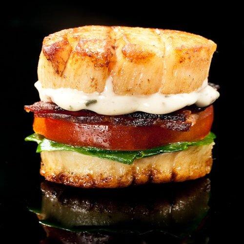 The Scallop Burger. (Photo: thebitesizedblog)