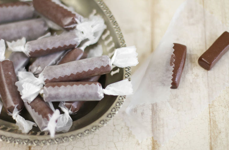 Homemade Tootsie Rolls. Homemade tootsie rolls with no cooking required and made from ingredients we already have in our pantry? Sign us up.