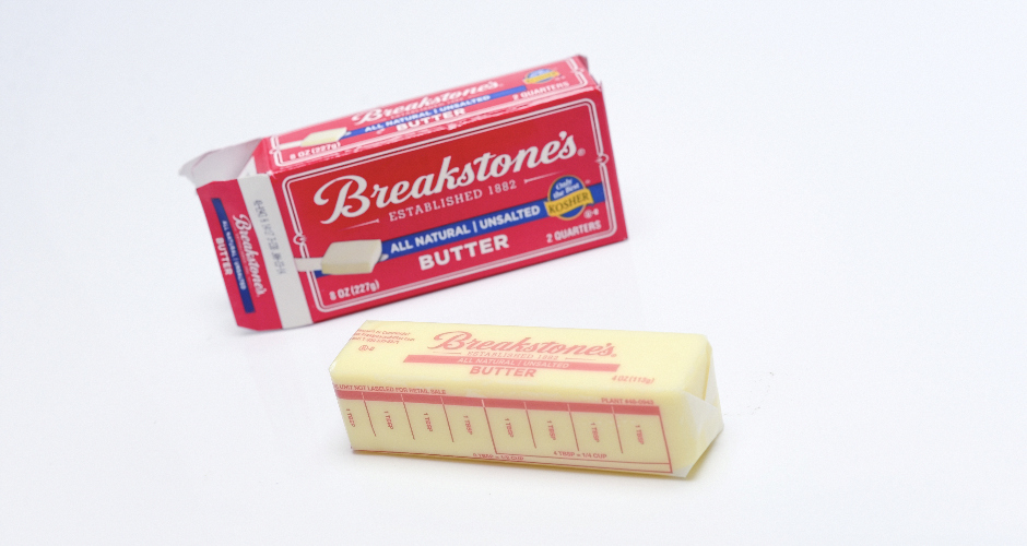 """Kids food #6: """"True story, I ate full sticks of butter when I was 5 years old like they were candy bars.""""Who ate it?: Brendan Frederick, Complex VP of Content Operations"""