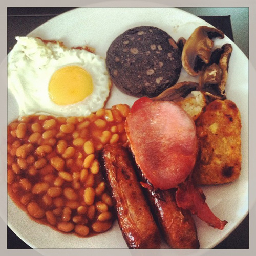 We can never say no to a full English breakfast. Shout out to