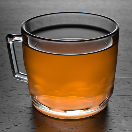 Teatime Toddy. If you're already a fan of the classic Hot Toddy, try this one, which—you guessed it—includes a bit of hot tea. And instead of the traditional whiskey base, this recipe calls for a healthy measure of spiced Get the Teatime Toddy recipe on Liquor.com now.