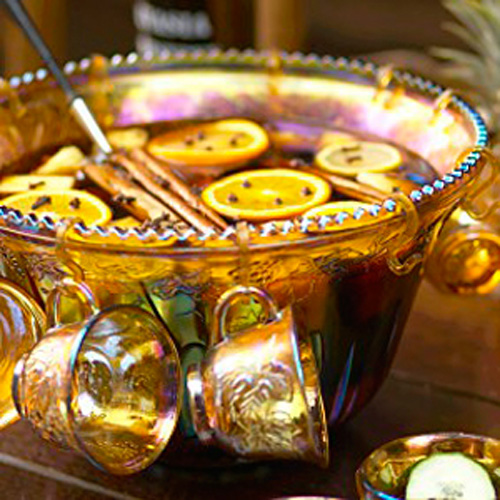 Hendrick's Hot Gin Punch. Yes, we know Hendrick's Gin, which is flavored with cucumbers in addition to juniper berries, make a delicious hot punch. Our recipe also includes Madeira wine, citrus, and spices.