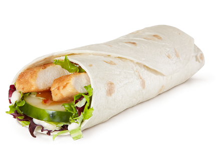 Mcdonald's new McWrap is marketed as healthy and convenient. (McDonald's)
