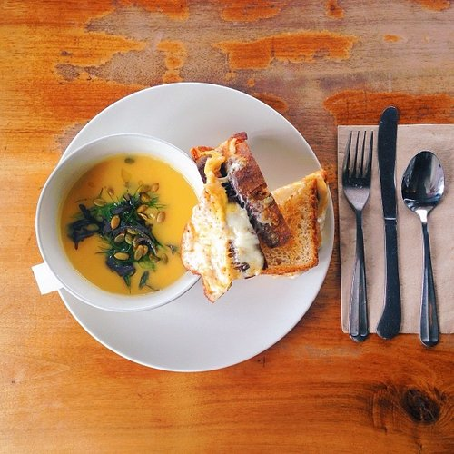 The best food trend might just be gourmet grilled cheese. Photo:
