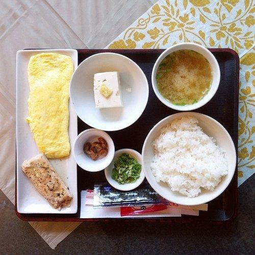 Breakfast in Japan looks so, so good. Photo:
