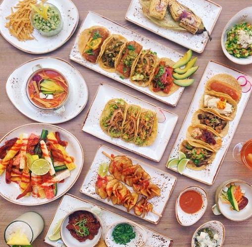Tacos, tacos, tacos, tacos, and tacos. Photo: