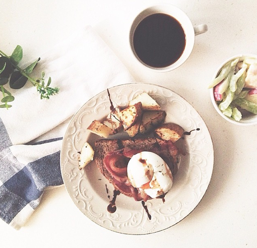 Yolky soft-boiled eggs are a great addition to any quick morning feast. Photo: