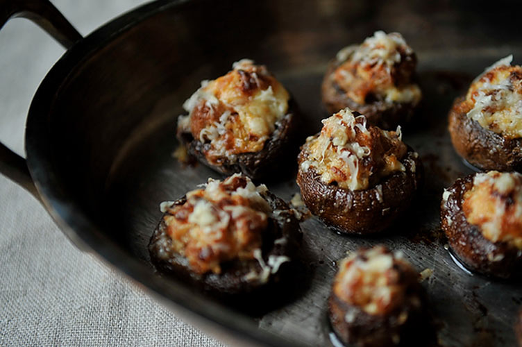 Creamy Sausage Stuffed Mushrooms. A quick toss with balsamic vinegar before cooking gives the mushrooms a touch of sweetness and acidity that pairs perfectly with the savory sausage and cream cheese filling. Bookmark these for your New Year's Eve party—they're a perfect foil for bubbly cocktails.