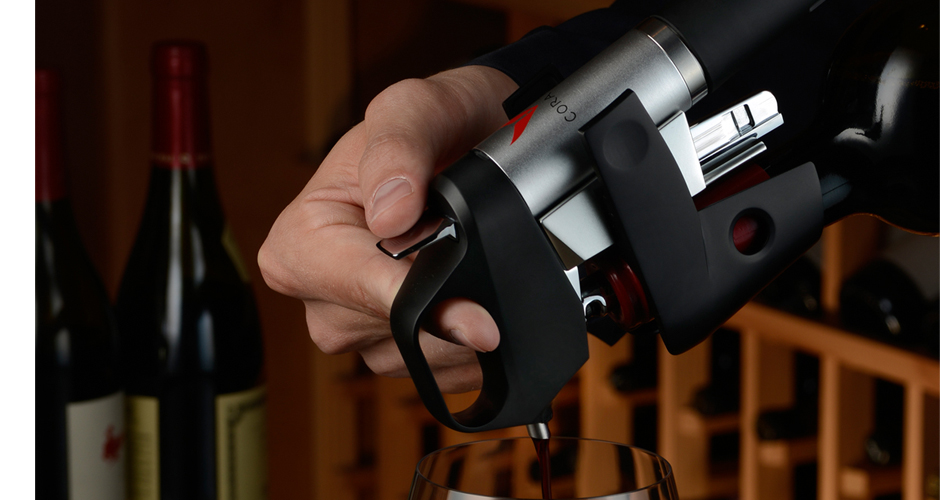 Coravin Wine Tool. Obviously, a machine that allows you to pour wine without actually opening the bottle sounds like a Sky Mall-style piece of crap that will never actually work. But the Coravin is gaining traction at some of the country's best restaurants and wine bars, where sommeliers use it to pour wines by the glass without spoiling the bottle by letting in oxygen. If it's good enough for them, it'll be great for your favorite wine nerd. $299.