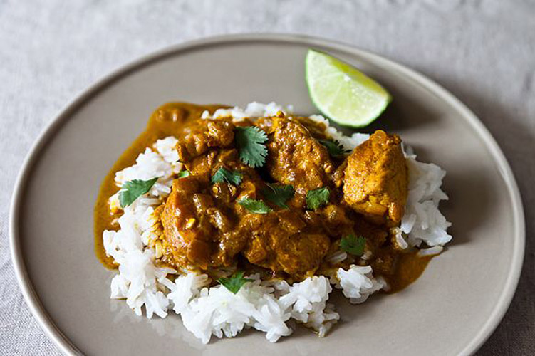 Cheap Creamy Chicken Curry. This is a lovely, subtle curry that tastes anything but cheap! The spice blend is flawless and packs just the right amount of punch, and the use of coconut milk lends the dish a wonderful richness and complexity.