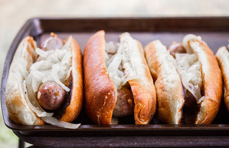 Sheboygan-Style Bratwurst. Okay, fine. Bratwursts are technically for summer. But don't let winter's lack of sunshine hold you down. Homemade bratwursts are a project that is worthwhile in every season.