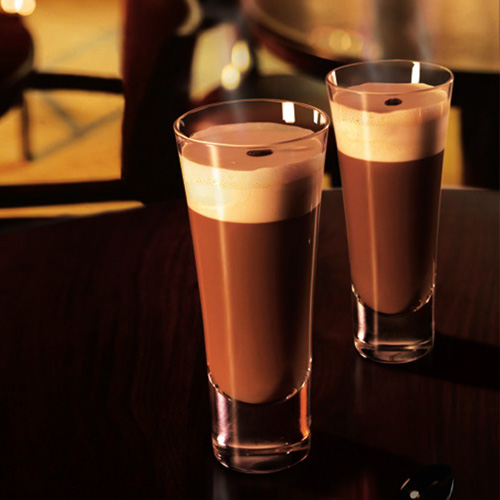 Grand Coffee. No would blame you for needing a caffeine boost this time of year. So perk up with this spirited coffee concoction that blends together a little Grand Marnier, brown sugar syrup, freshly brewed coffee, and whipped cream. It's a rich reward for surviving the holiday season.