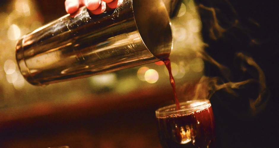 Pour or ladle your mulled wine into a small wine goblet or the serving vessel of your choice.