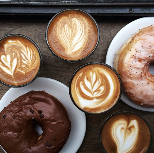 There's nothing quite like coffee and donuts with