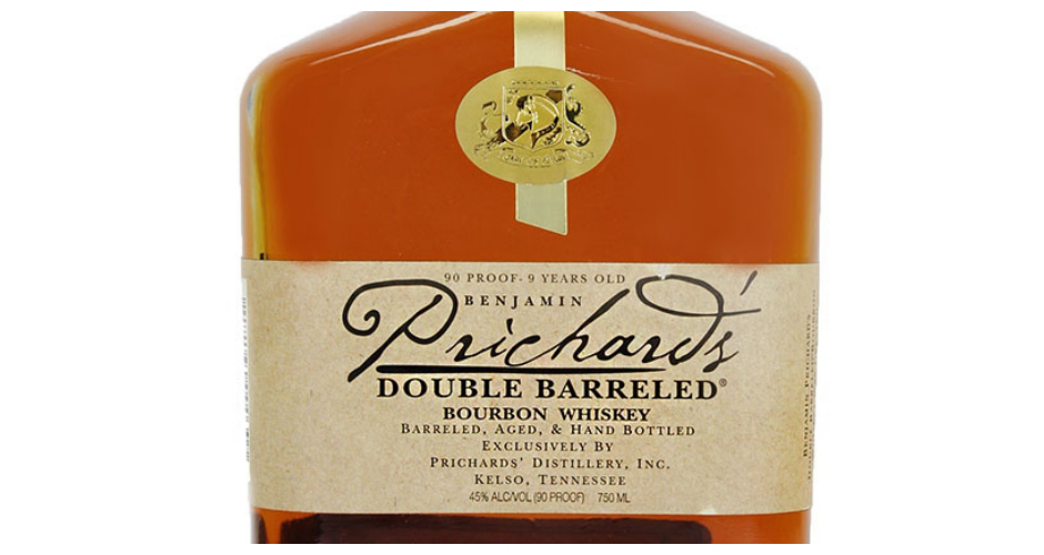 PRICHARD'S DISTILLERY WHISKEY Prichard's has been distilling since 1822. The distillery's double barreled bourbon whiskey is distilled in charred oak barrels and bottled at 95 proof. Tastes like: Raisins and honeycomb. Available at: Caskers.(Photo: Oaks Liquors)